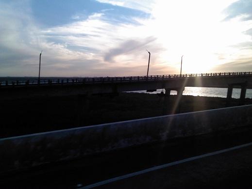 Ponte/limite entre RG e Pelotas/Foto: dos autores