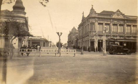 Rua Duque de Caxias, início do Séc XX.
